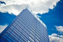 Skyskrapor med moln Royaltyfri Foto