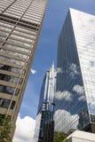 Skyskrapor och torn Royaltyfria Bilder