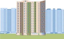 skyskrapor Stadsområde Arkivfoton