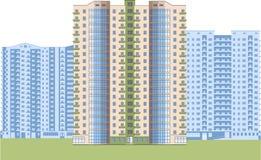 skyskrapor Stadsområde Arkivbild