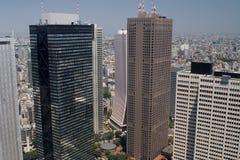 skyskrapor tokyo Royaltyfri Fotografi