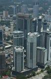 Skyskretchers de Malasya Fotos de archivo