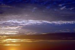 skysoluppgång Arkivbilder