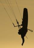 skysurfer Στοκ φωτογραφία με δικαίωμα ελεύθερης χρήσης