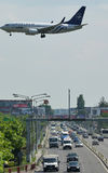 Skyteam samolot Zdjęcie Royalty Free