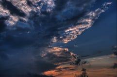 skytextur Royaltyfri Foto