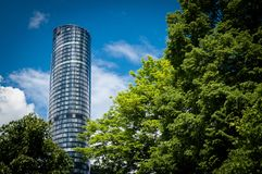 Skytower Wroclaw, Poland Stock Image