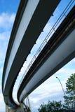 Skytrain Brücken-Anflug-Platte lizenzfreie stockfotos