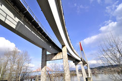 Skytrain Bridge Royalty Free Stock Images