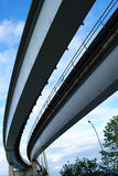 Skytrain Bridge Approach Slab Royalty Free Stock Photos