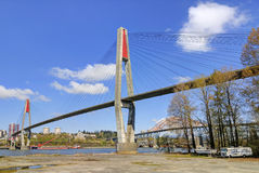 Skytrain bridge on a sunny day Royalty Free Stock Images