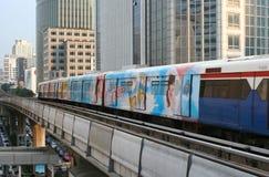 skytrain bts стоковые фотографии rf