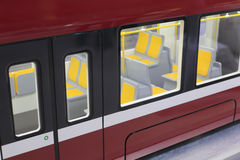 Skytrain compartment Stock Images