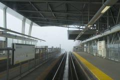 Skytrain för sjöstadsväg station Royaltyfri Foto