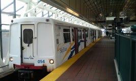 Skytrain LRT Arkivbild