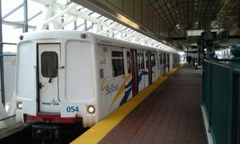 Skytrain LRT. stock photography