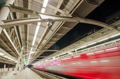 Skytrain station. In bangkok Stock Photo