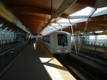 Skytrain in the Station Royalty Free Stock Image