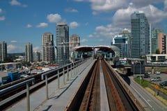 Skytrain, Vancouver B.C., Canada Stock Photo
