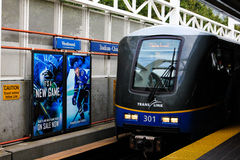 Skytrain Vancouver, British Columbia, Canada Stock Photo