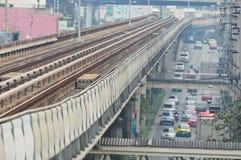 Skytrain way Stock Photography
