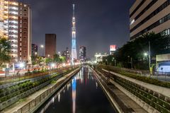 Skytree του Τόκιο Στοκ Φωτογραφίες