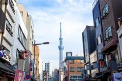 Skytree Токио стоковое фото