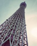 Skytree de Tokyo imagem de stock