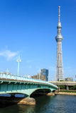 Skytree de Tokyo Photos libres de droits