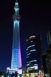Skytree di Tokyo Fotografie Stock Libere da Diritti