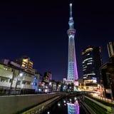 Skytree di Tokyo Fotografie Stock