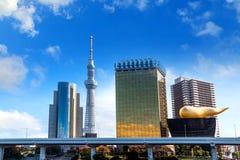 Skytree di Tokyo Fotografia Stock