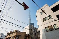 SkyTree, Tokyo Fotografia Stock Libera da Diritti