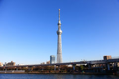 Skytree van Tokyo stock foto's