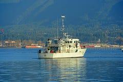 Skyttel för patrullhantverk i Vancouver, F. KR., Kanada Royaltyfri Bild