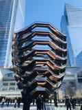 Skyttel på Hudson Yard royaltyfri bild