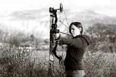 Skyttestraigh Fotografering för Bildbyråer