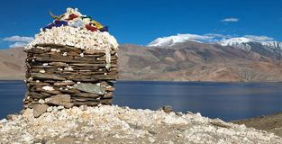 Skyumpata village - Beautiful village in Zanskar trek Stock Images