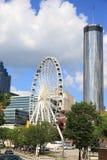 Skyview Атланта Стоковое Изображение