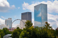 SkyView Атланта США стоковые фотографии rf