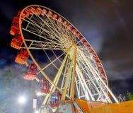 Skyview hjul Fremantle, Australien royaltyfria bilder