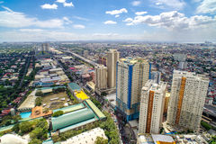 Skyview at Manila Royalty Free Stock Photography