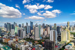 Skyview at Manila Royalty Free Stock Photos