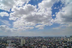 Skyview at Manila Stock Image