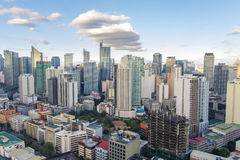 Skyview at Manila Royalty Free Stock Photo