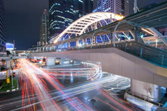 Skywalk曼谷 免版税图库摄影
