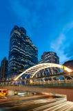 Skywalk,曼谷 免版税库存图片