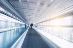 Skywalk εμπορικών εκθέσεων Στοκ Εικόνα