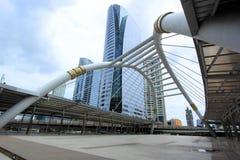 Skywalk в Бангкоке Стоковое Изображение RF