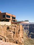 Skywalk в лете - оправа гранд-каньона западная - Аризона, AZ Стоковые Фото